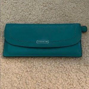 Coach 6 slot wallet